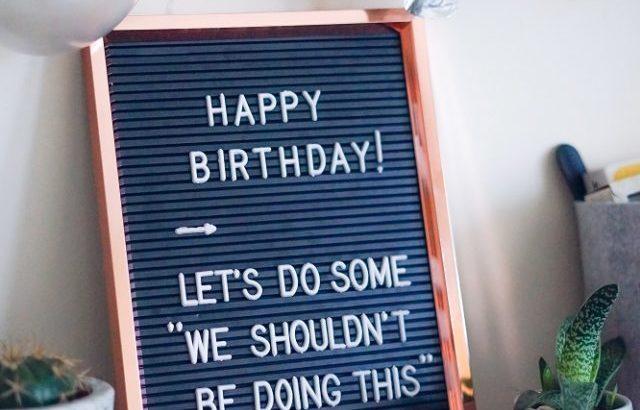 No.3975 パートナー、60歳の誕生日!!・・・還暦だね・・・